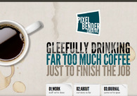 A great web design by Pixel Bender Creative, Nanaimo, Canada: