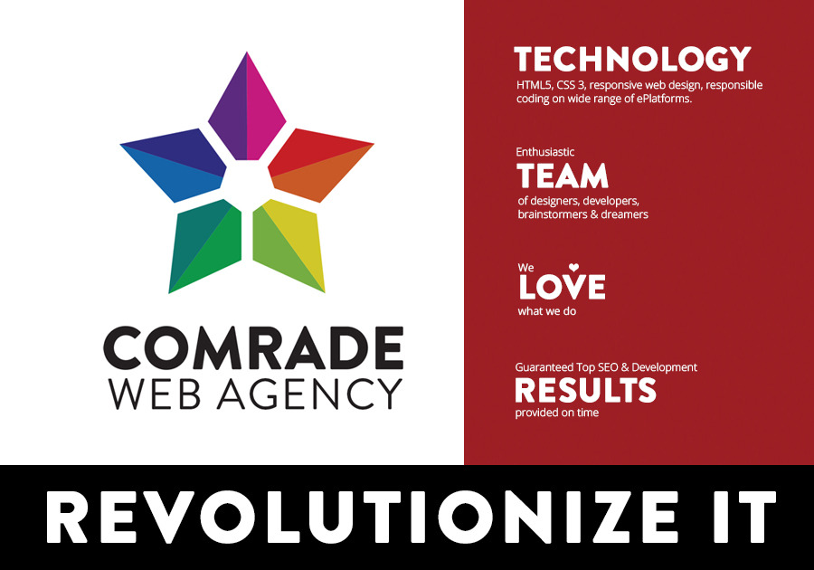 A great web design by Comrade Web Agency, Chicago, IL: