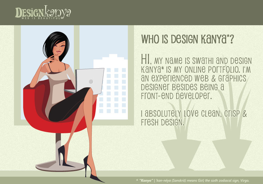 A great web design by Design Kanya, Bangalore, India:
