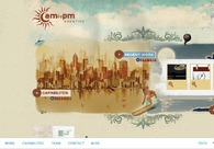 A great web design by AMtoPM Creative, Rincon, Puerto Rico:
