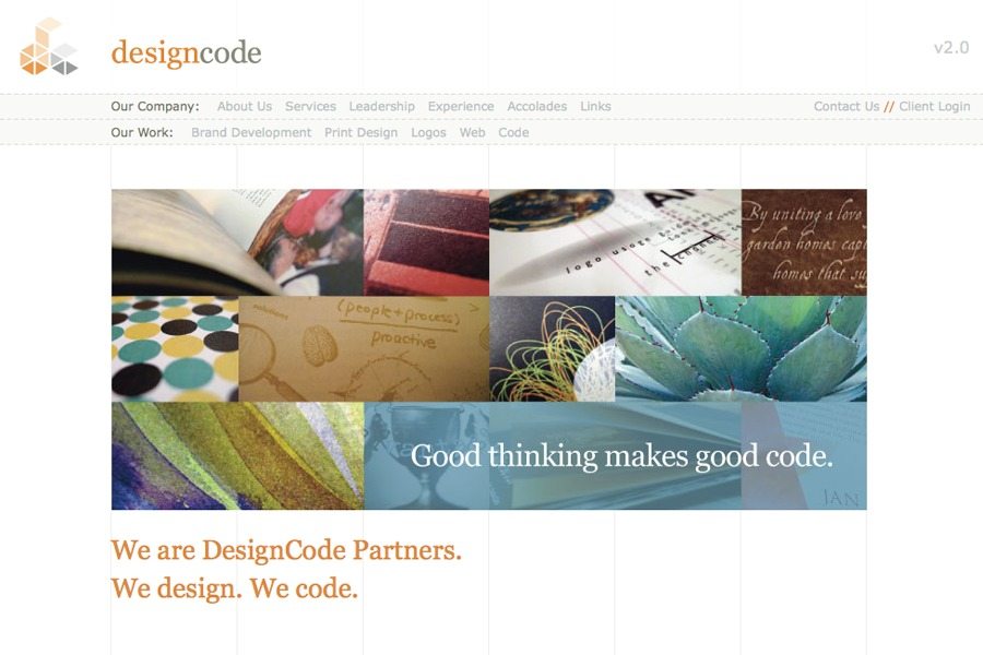 A great web design by DesignCode, Austin, TX: