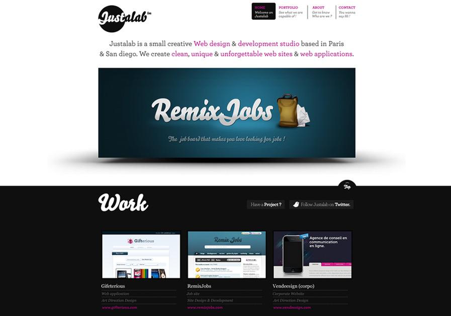 A great web design by Justalab, San Diego, CA: