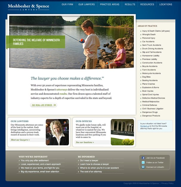 A great web design by ArcStone Technologies, Minneapolis, MN: