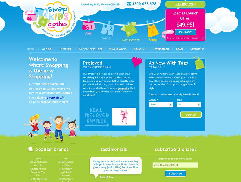 A great web design by Itomic, Perth, Australia:
