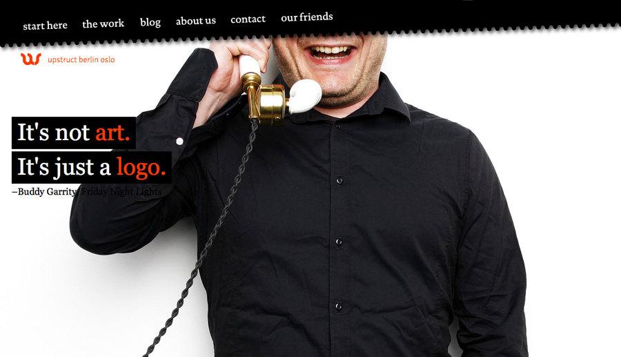 A great web design by upstruct berlin oslo, Berlin, Germany: