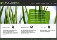 A great web design by Implementek.de, Munich, Germany: