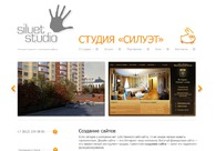 A great web design by Siluet Studio, Saint Petersburg, Russia: