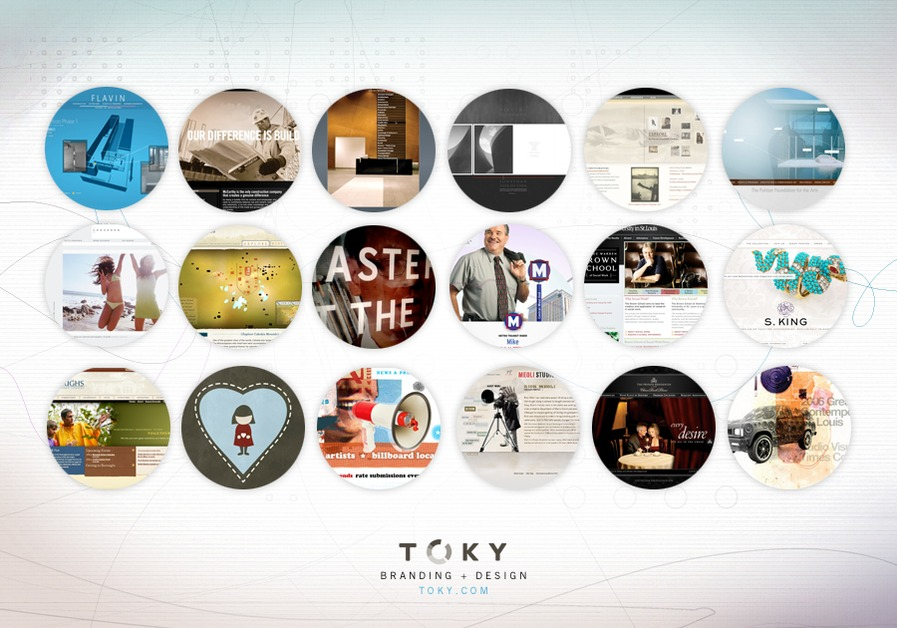 A great web design by TOKY Branding + Design, St Louis, MO: