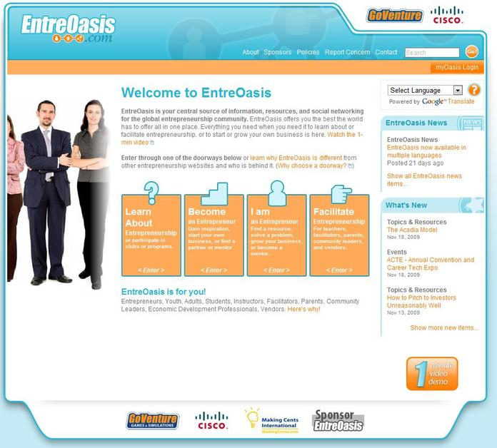 A great web design by MediaSpark Inc, Cape Breton, Canada: