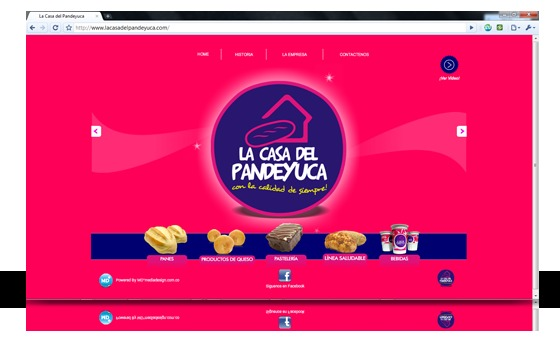 A great web design by MD°mediadesign, Cali, Colombia:
