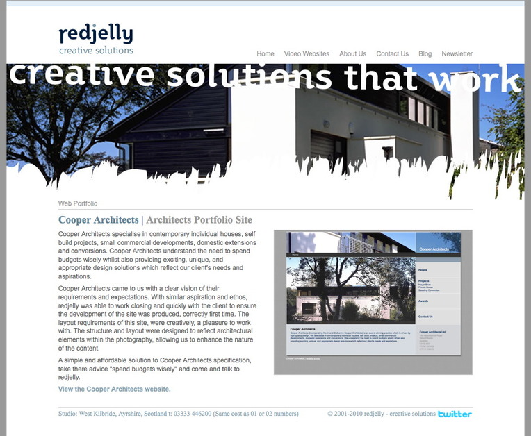 A great web design by redjelly creative solutions, Glasgow, United Kingdom: