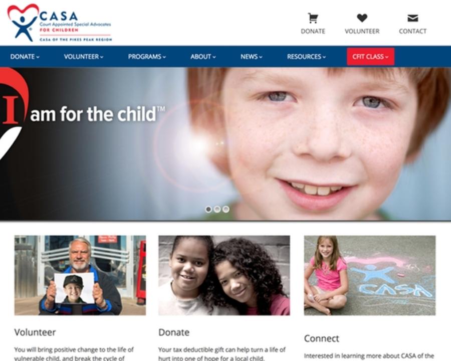 A great web design by Simplex Studios, Colorado Springs, CO: Responsive Website, Marketing Website , Non Profit , Wordpress