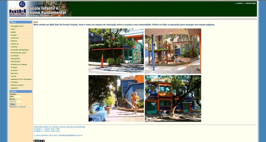 A great web design by Paulo Roberto Pedott, Porto Alegre, Brazil: