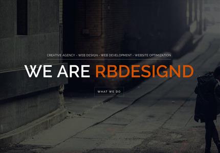 A great web design by RBDesignd: Responsive Website, Portfolio , Internet , Wordpress