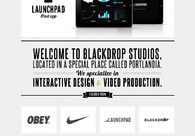 A great web design by Blackdrop Studios, Portland, OR: