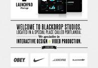 A great web design by Blackdrop Studios, Portland, OR: