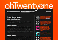 A great web design by ohTwentyone, Fort Worth, TX: