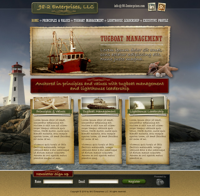 A great web design by Revenue River Marketing, Colorado Springs, CO: