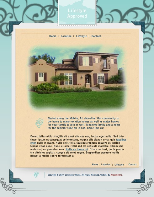 A great web design by Arachnid Inc., Montgomery, AL: