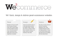 A great web design by We3 Commerce, London, United Kingdom: