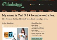 A great web design by Philadesigns, Philadelphia, PA: