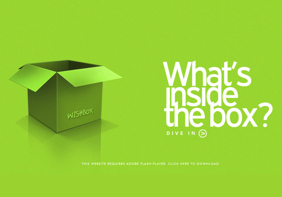 A great web design by Wishbox India, Mumbai, India:
