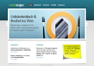 A great web design by Metascape., Frankfurt, Germany: