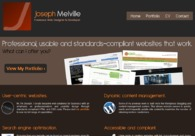 A great web design by Joseph Melville, Reading, United Kingdom: