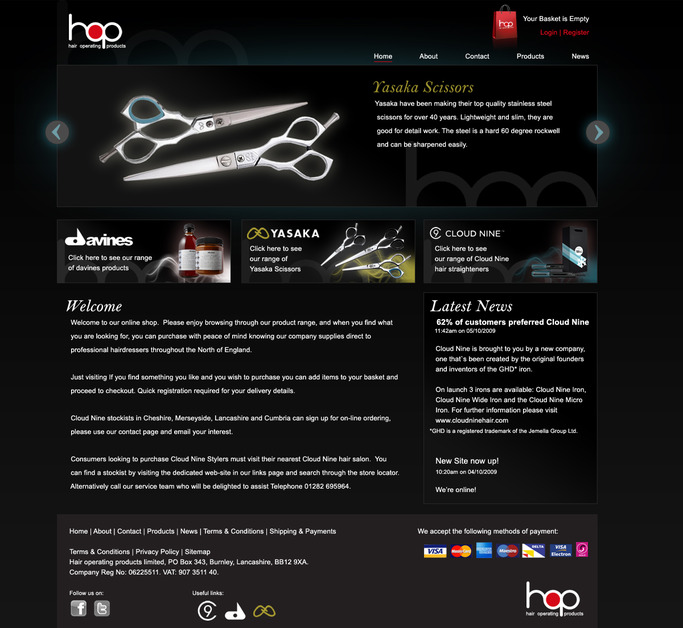A great web design by WildFire Digital Media, Manchester, United Kingdom: