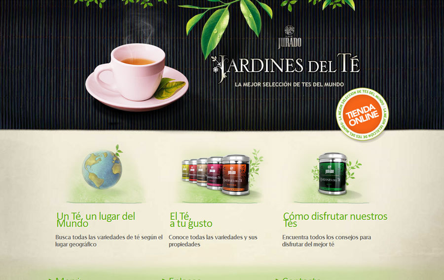 A great web design by Espira Tecnologias Web, Barcelona, Spain: