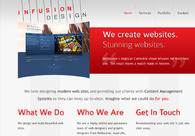 A great web design by Infusion Design, Melbourne, Australia: