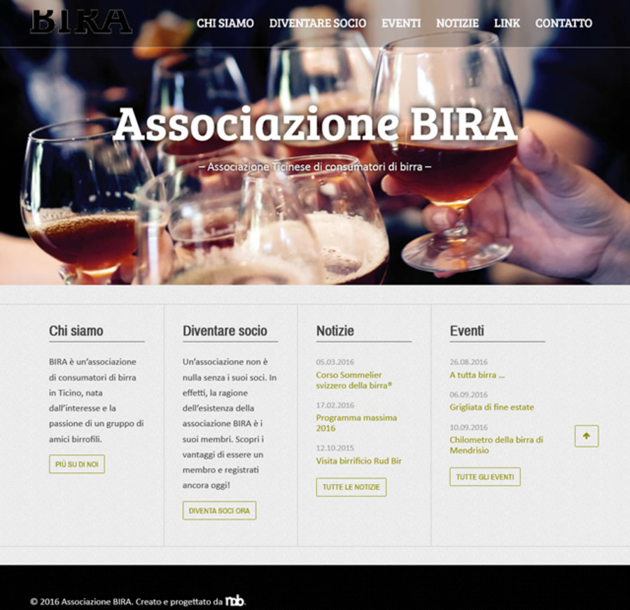 A great web design by Nico De Backer - iamwebdeveloper.com, Lugano, Switzerland: Responsive Website, Other, Non Profit , PHP