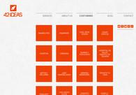 A great web design by 42 Ideas, Tijuana, Mexico: