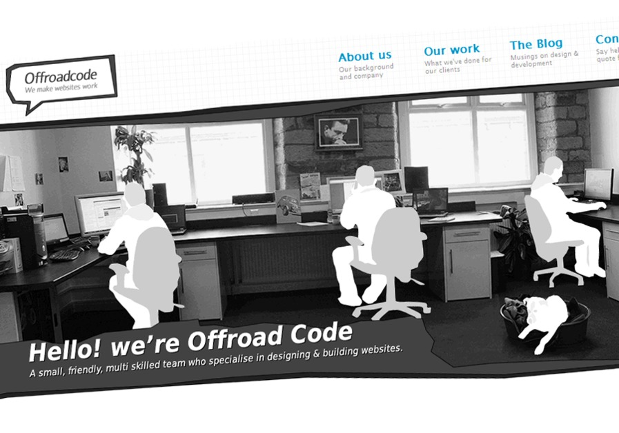 A great web design by Offroadcode, Huddersfield, United Kingdom: