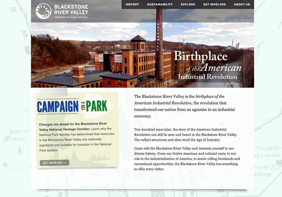 A great web design by ducStudio, Providence, RI: