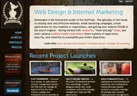 A great web design by Netmongrel, LLC, Atlanta, GA: