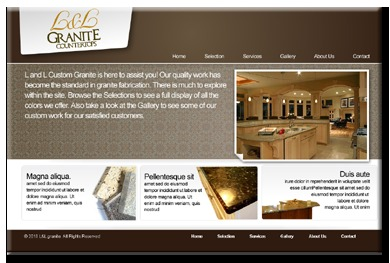 A great web design by Bluejay Website Design, Salt Lake City, UT: