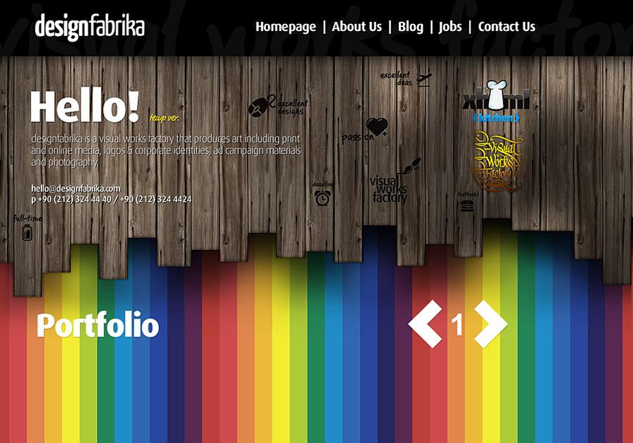 A great web design by designfabrika, Istanbul, Turkey:
