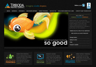 A great web design by Triboda Printing Company, Kelowna, Canada: