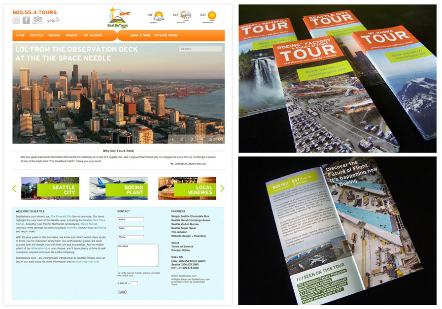 A great web design by Divine Fusion Design Studio, Seattle, WA: