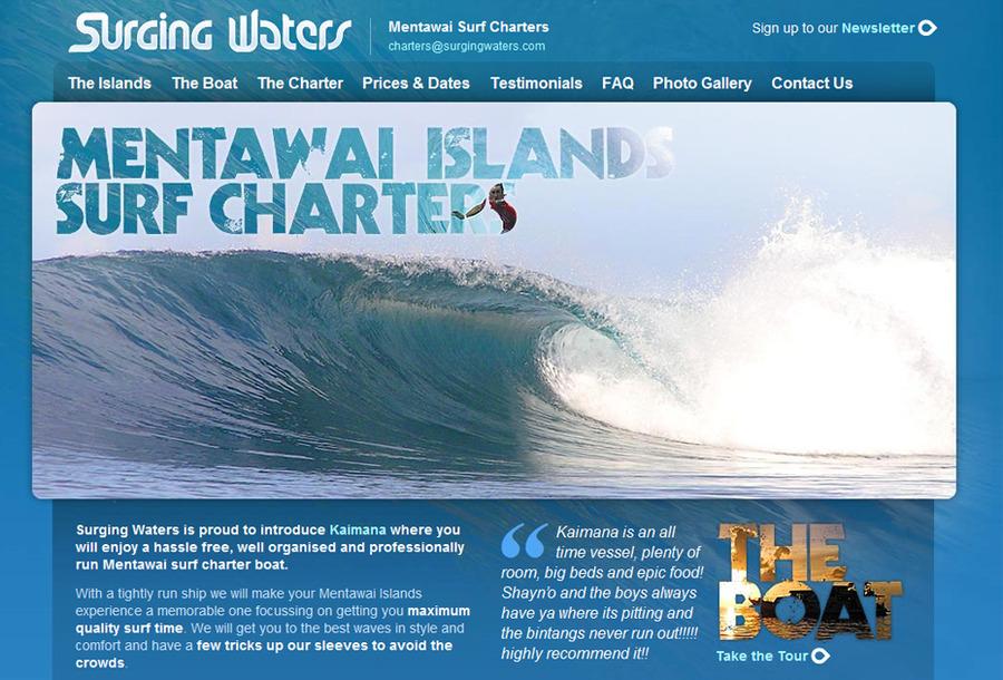 A great web design by Barry Fogarty, London, United Kingdom: