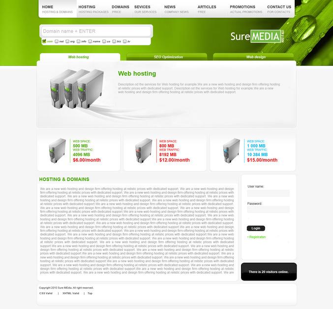 A great web design by Asparuh Stoyanov, Sofia, Bulgaria: