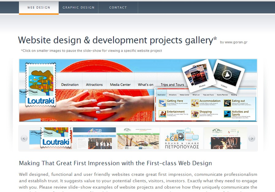 A great web design by www.goran.gr, Athens, Greece: