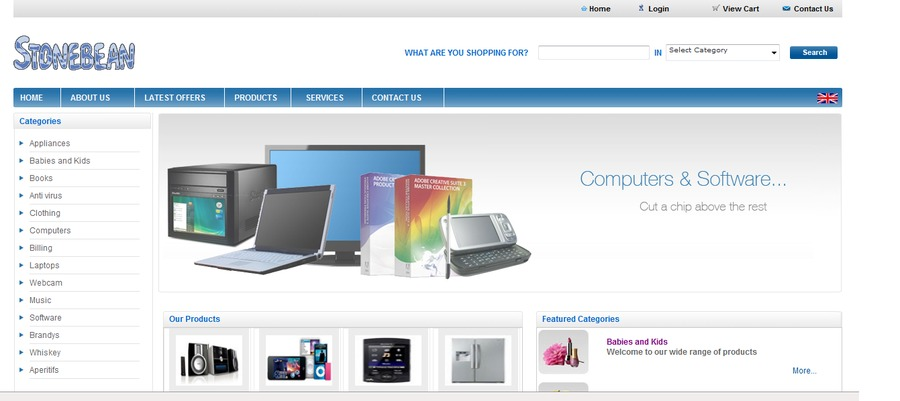 A great web design by MCS Technologies Ltd, London, United Kingdom: