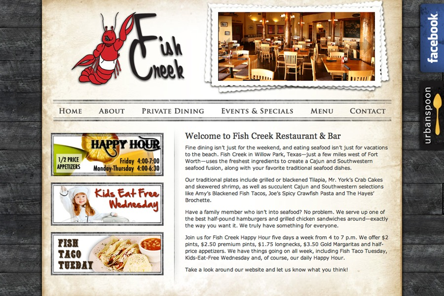 A great web design by Cara Fry, Houston, TX: