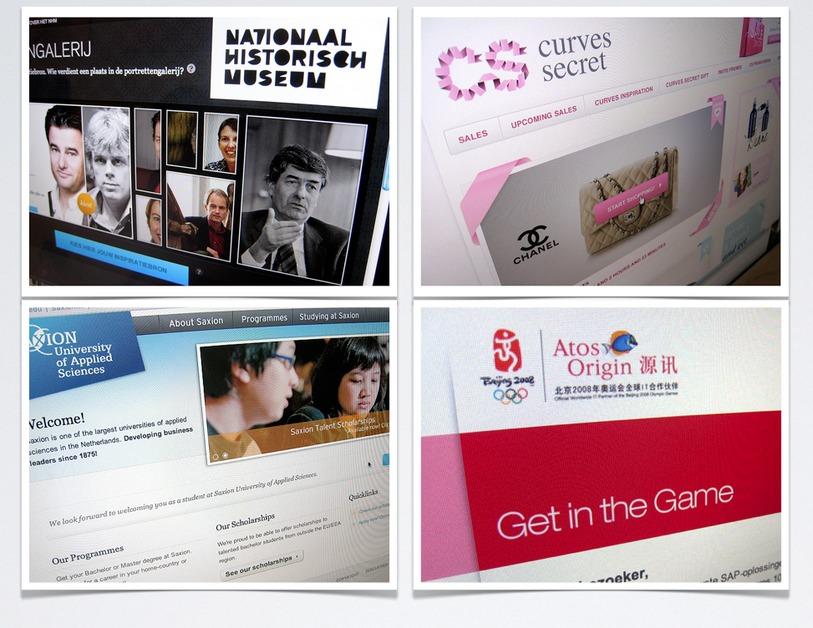A great web design by Eight Media Internetbureau, Arnhem, Netherlands: