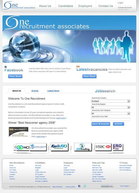 A great web design by Maveric Designs, Glasgow, United Kingdom: