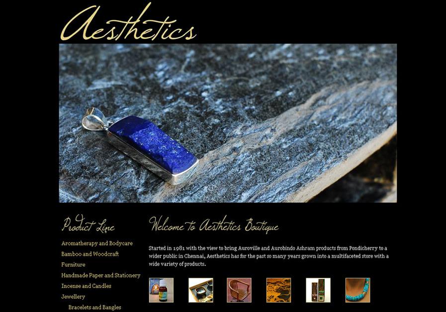 A great web design by WanderingMist, Chennai, India: