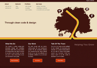 A great web design by Michael Sacca, Las Vegas, NV: