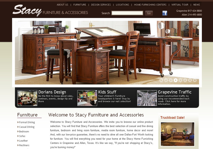 A great web design by The Murph Group, Dallas, TX: